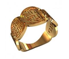 Охранное универсальное кольцо, ручная работа артикул: 210270