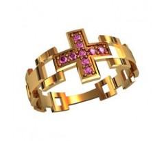 Охранное универсальное кольцо, ручная работа артикул: 210280