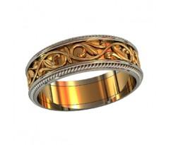 Эксклюзивное кольцо женское, ручная работа art: 000050