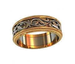 Эксклюзивное мужское кольцо art: 000060