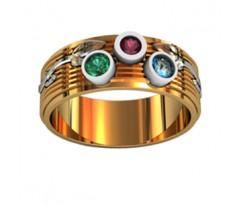 Эксклюзивное кольцо женское, ручная работа art: 000090