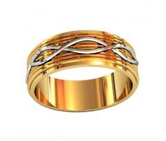 Эксклюзивное мужское кольцо art: 000100