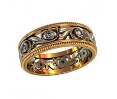 Эксклюзивное кольцо женское, ручная работа art: 000110
