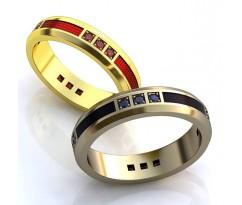 Авторские кольца на свадьбу  art: AU029