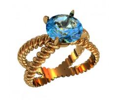 Эксклюзивное кольцо женское, ручная работа art: 000130