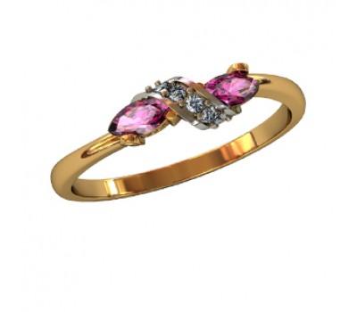 Эксклюзивное кольцо женское, ручная работа art: 000240