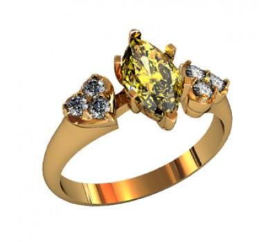 Эксклюзивное кольцо женское, ручная работа art: 000260