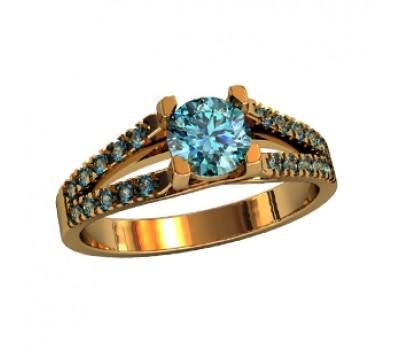 Эксклюзивное кольцо женское, ручная работа art: 000340