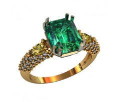 Эксклюзивное кольцо женское, ручная работа art: 000600