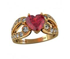 Эксклюзивное кольцо женское, ручная работа артикул: 000720