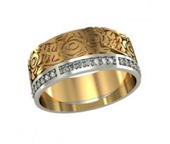 Перстень женский, ручная работа art: 001630