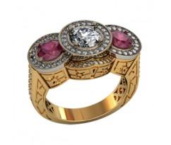 Перстень женский, ручная работа art: 001750