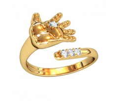 Артикул: 001950 Кольцо в виде детской ладошки