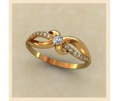 Женское кольцо индивидуальной обработки артикул: К1349
