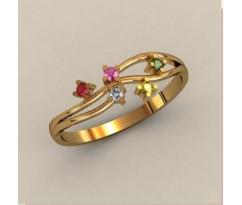 Женское кольцо индивидуальной обработки артикул: К1743