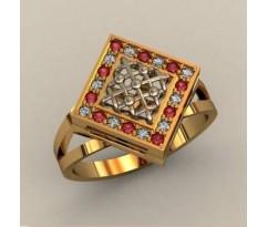 Кольцо женское ручной авторской работы артикул: К1757