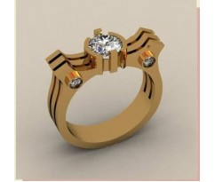 Кольцо для мужчин качественной, ручная работа артикул: КП-1587