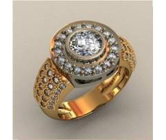 Кольцо для мужчин качественной, ручная работа артикул: КП-1727