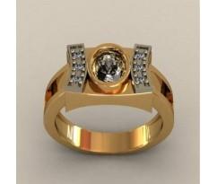 Кольцо для мужчин качественной, ручная работа артикул: КП-1732