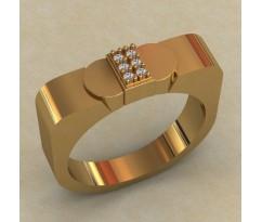 Кольцо для мужчин качественной, ручная работа артикул: КМ-642