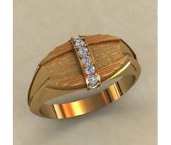 Кольцо для мужчин качественной, ручная работа артикул: КМ-646
