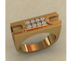 Кольцо для мужчин качественной, ручная работа артикул: КМ-650