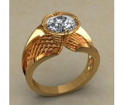 Массивное женское кольцо артикул: КН-661