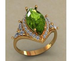Массивное женское кольцо артикул: КН-662