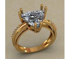 Кольцо женское ручной авторской работы артикул: КН-664