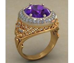 Кольцо женское ручной авторской работы артикул: КН-665