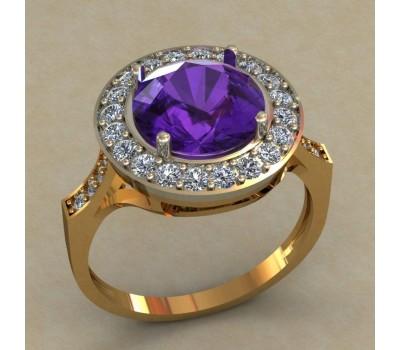 Кольцо женское ручной авторской работы артикул: КН-670