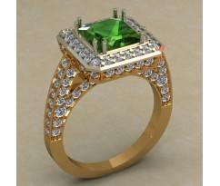 Кольцо женское ручной авторской работы артикул: КН-671