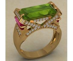 Кольцо женское ручной авторской работы артикул: КН-674