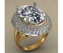 Кольцо женское ручной авторской работы артикул: КН-675