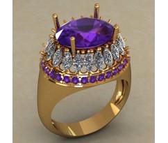 Кольцо женское ручной авторской работы артикул: КН-677