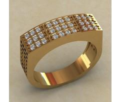 Кольцо для мужчин качественной, ручная работа артикул: КМ-812