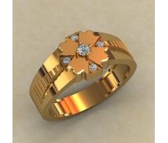 Кольцо для мужчин качественной, ручная работа артикул: КМ-819