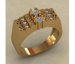 Кольцо для мужчин качественной, ручная работа артикул: КМ-821