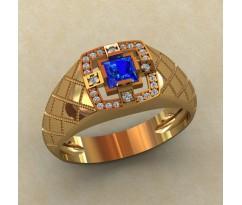 Кольцо для мужчин качественной, ручная работа артикул: КМ-828