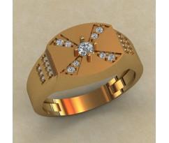 Кольцо для мужчин качественной, ручная работа артикул: КМ-829