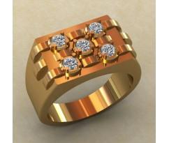 Кольцо для мужчин качественной, ручная работа артикул: КМ-830
