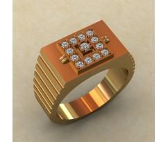 Кольцо для мужчин качественной, ручная работа артикул: КМ-832