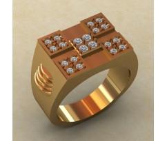 Кольцо для мужчин качественной, ручная работа артикул: КМ-834