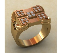 Кольцо для мужчин качественной, ручная работа артикул: КМ-835