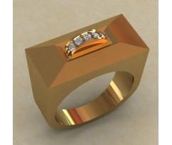 Кольцо для мужчин качественной, ручная работа артикул: КМ-836
