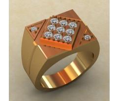 Кольцо для мужчин качественной, ручная работа артикул: КМ-839