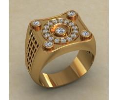 Кольцо для мужчин качественной, ручная работа артикул: КМ-840