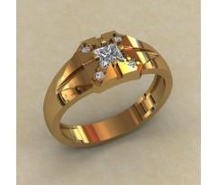Кольцо для мужчин качественной, ручная работа артикул: КМ-844