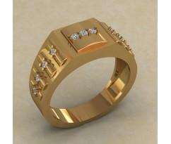 Кольцо для мужчин качественной, ручная работа артикул: КМ-848