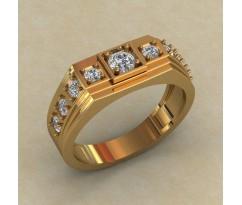 Кольцо для мужчин качественной, ручная работа артикул: КМ-849